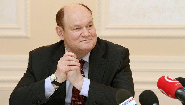 Губернатор Пензенской области Василий Бочкарев на встрече с журналистами. Архивное фото