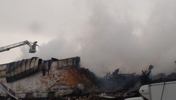 Пожар на складах пиротехники в Чите