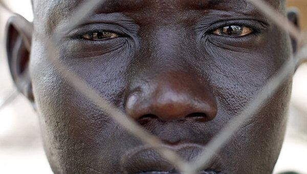 Житель Южного Судана. Архивное фото