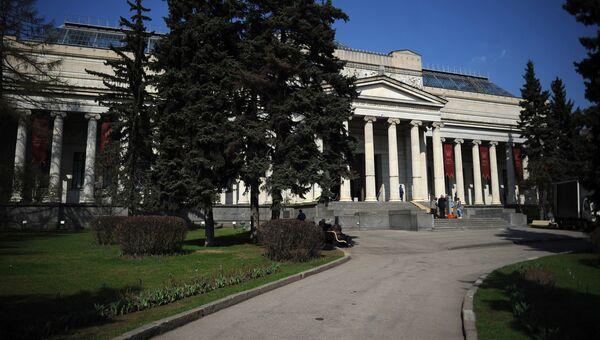 Здание ГМИИ им. А.С. Пушкина, архивное фото