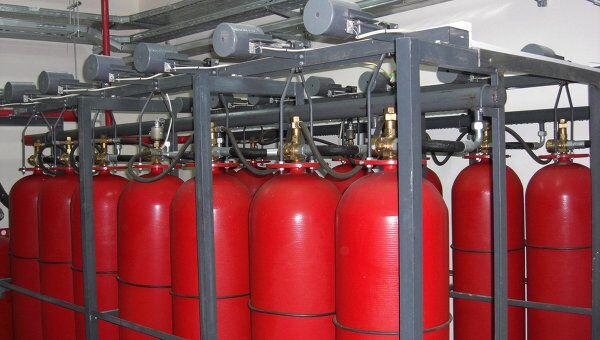 Система газового пожаротушения. Архив