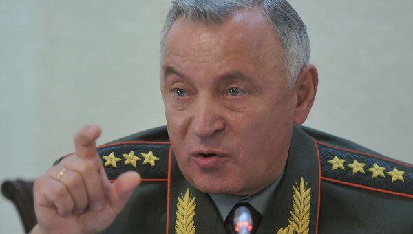 Начальник Генерального штаба Вооруженных Сил РФ Николай Макаров. Архив