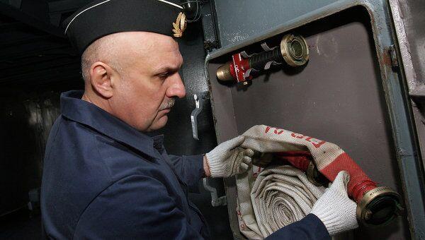 Командующий Тихоокеанским флотом Сергей Авакянц. Архивное фото