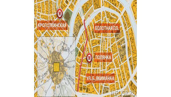 Власти Москвы согласовали шествие оппозиции 6 мая по Большой Якиманке