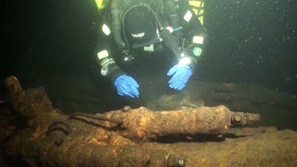 Дайверы раскрыли тайну гибели субмарины Правда. Подводная съемка