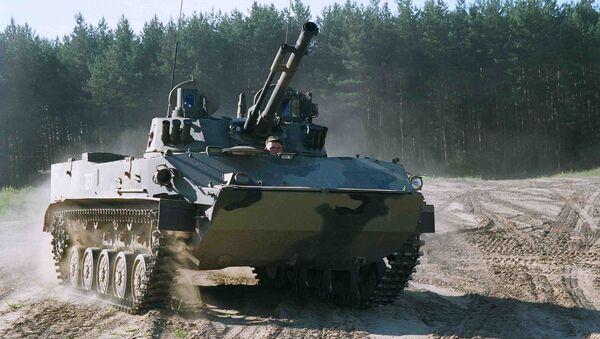 Боевая машина десанта-4 модернизированная (БМД-4М). Архивное фото