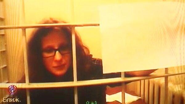 Участниц Pussy Riot оставили под стражей. Кадры из зала суда