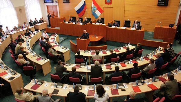 Рассмотрение кандидатуры губернатора Самарской области