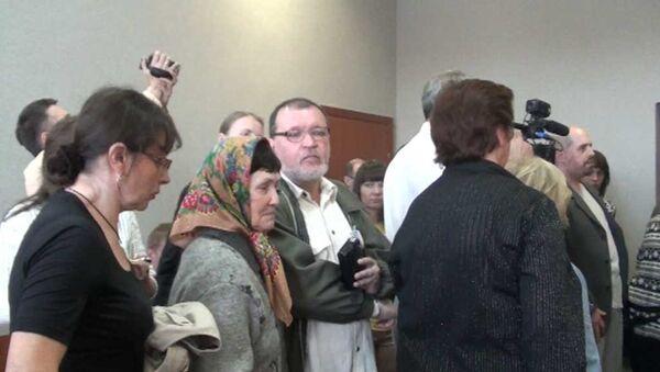 Родные погибших в Хромой лошади ушли из зала суда в знак протеста