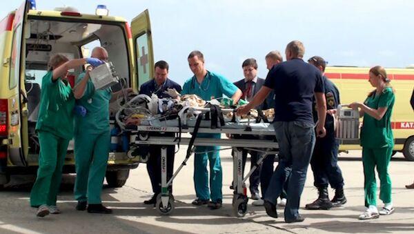 Тяжело пострадавших в ДТП на Ставрополье детей везут на лечение в Москву