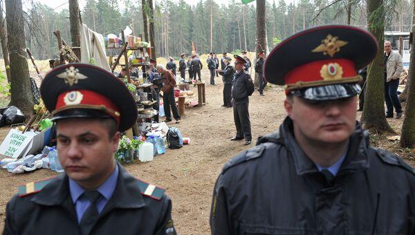 Ситуация в Цаговском лесу
