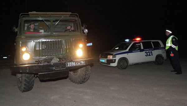 Пожар на складе боеприпасов в Приморском крае