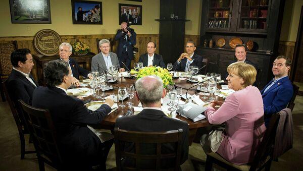 Саммит G8 в США
