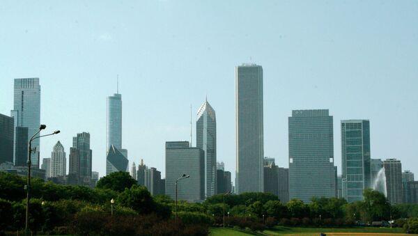 Чикаго вид. Архивное фото