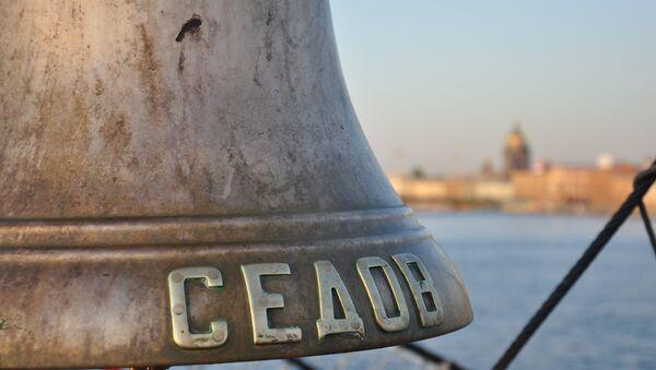 Парусник Седов начал кругосветное путешествие из петербургской акватории