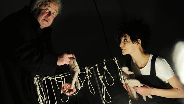 Открытая репетиция спектакля Буря в театре Et Cetera