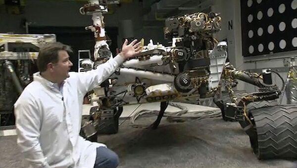 Инженеры НАСА показали, как работает марсоход третьего поколения Curiosity