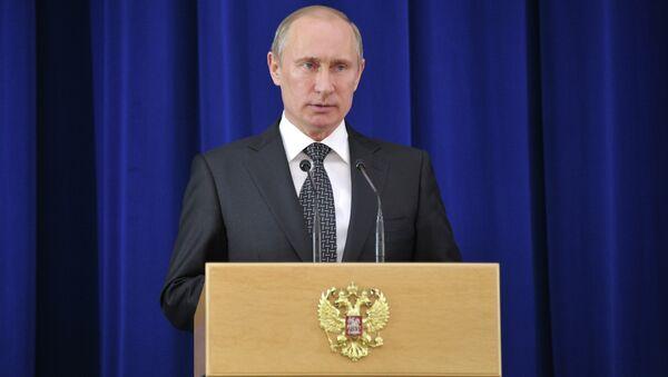 Президент России Владимир Путин. Архив