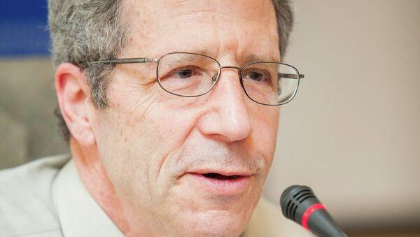 Глава Международного консультативного комитета ВШЭ, профессор Принстонского Университета, лауреат Нобелевской премии Эрик Маскин