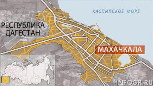 Два взрыва прогремели в Махачкале, сообщил источник
