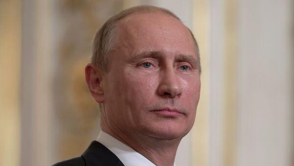 Рабочий визит президента РФ В.Путина во Францию