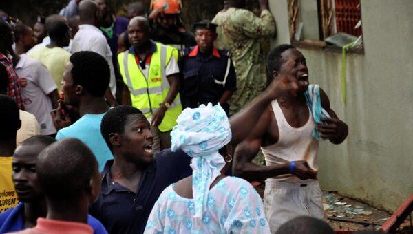 Самолет нигерийской авиакомпании Dana Air разбился в Лагосе