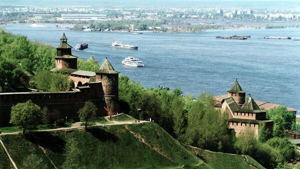 Кремль в Нижнем Новгороде. Архивное фото