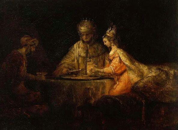 Артаксеркс, Аман и Эсфирь