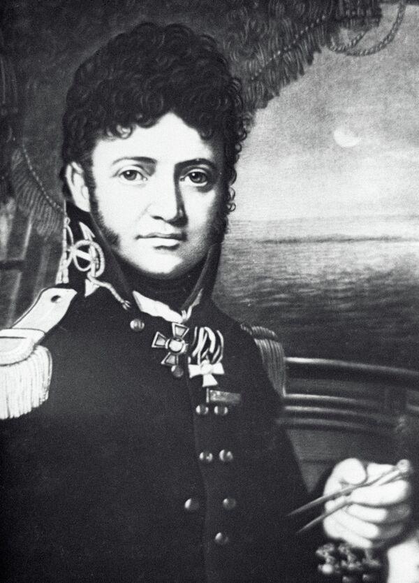 Капитан первого ранга Юрий Лисянский