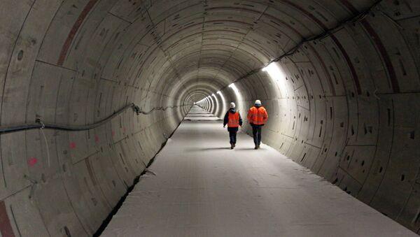 Строительство туннелей для европейского рентгеновского лазера XFEL. Архивное фото