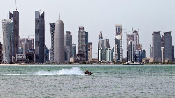 В столице Катара Дохе. Архивное фото
