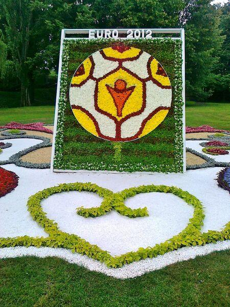 В честь Евро-2012 в Киеве открылась выставка цветов - РИА Новости ... d5822dc827333