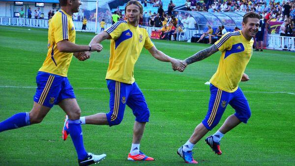футбол Украина Евро