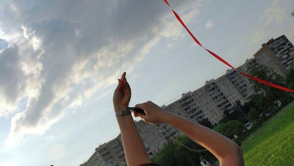 Лето в Москве, архивное фото