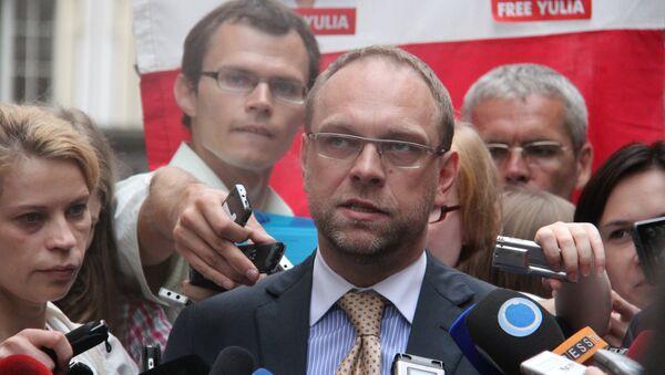 Защитник Юлии Тимошенко Сергей Власенко, архивное фото