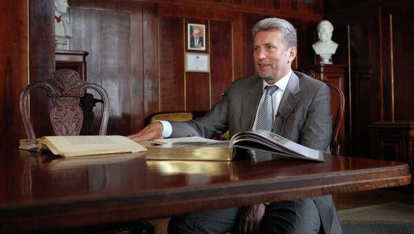 Директор Российской государственной библиотеки Александр Вислый. Архивное фото