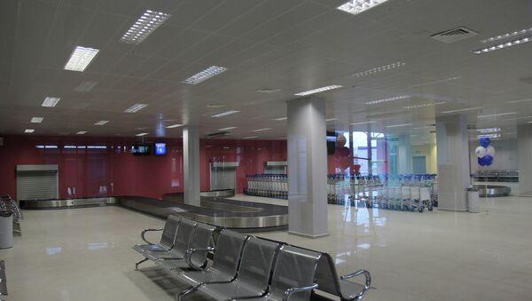 Пассажирский терминал аэропорта в Якутии. Архивное фото