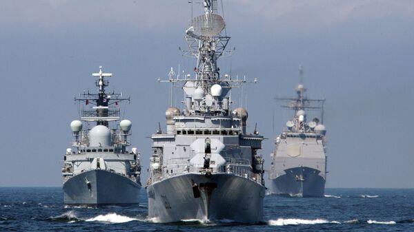 Корабли в Балтийском море