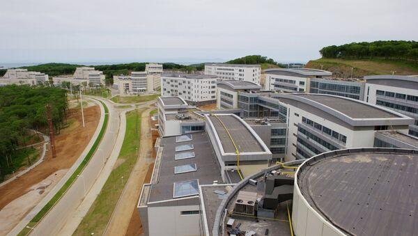 Корпуса Дальневосточного федерального университета. Архивное фото