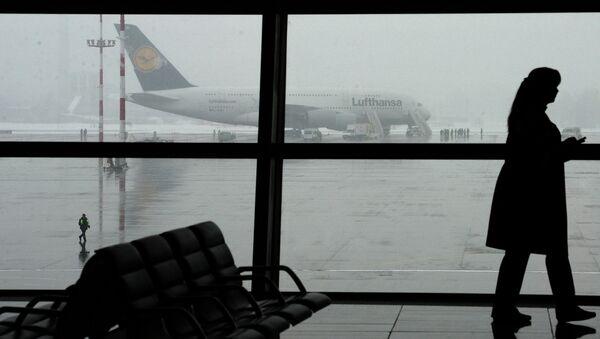 В аэропорту Внуково. Архив