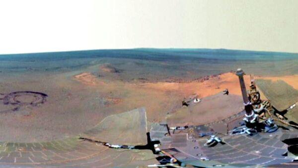 Уникальные снимки марсианской зимы обнародованы NASA