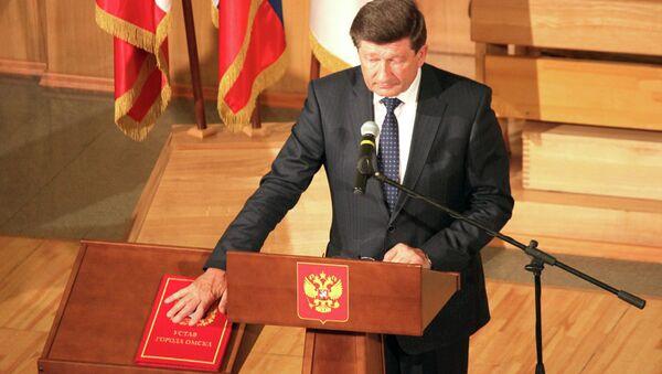 Мэр Омска Вячеслав Двораковский. Архивное фото