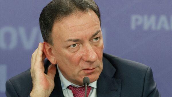 Президент Российского Зернового Союза Аркадий Злочевский. Архив