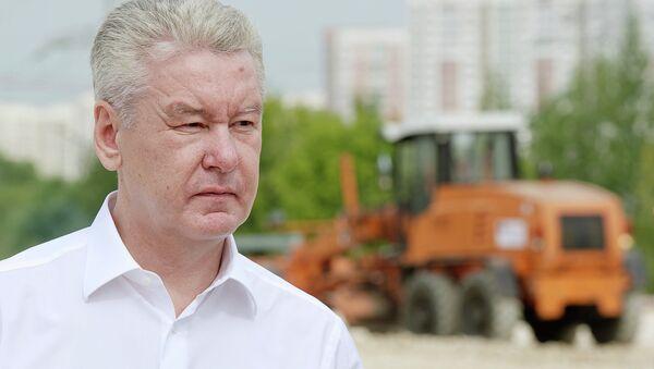 Мэр Москвы Собянин.