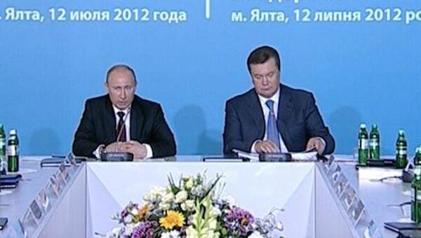 Путин напомнил Януковичу о значение украинской оборонки для России