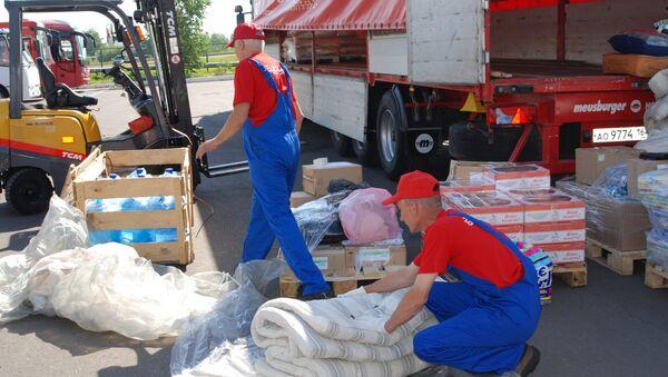 Гуманитарная помощь для Крымска