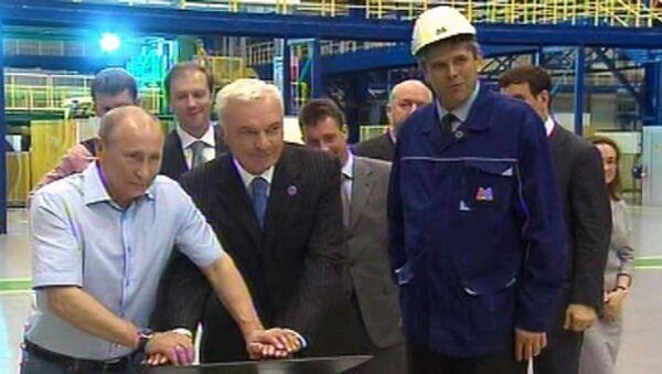 Путин нажал на две кнопки и создал 1300 рабочих мест в Магнитогорске