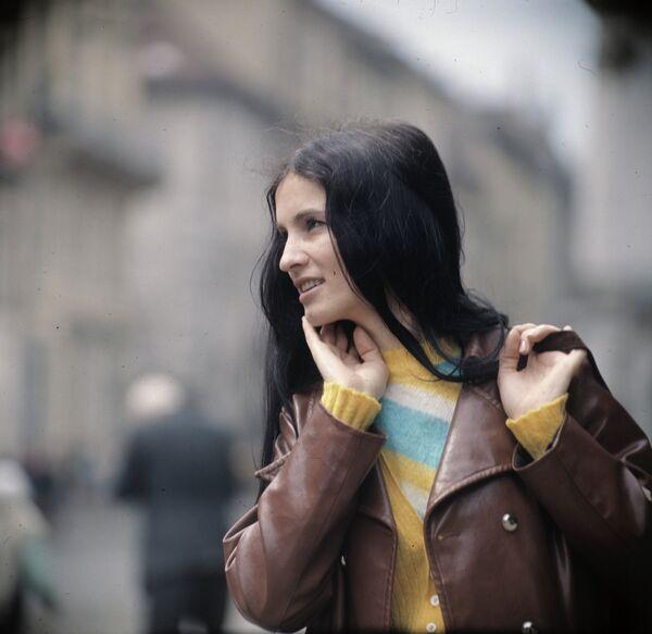 Артистка София Ротару