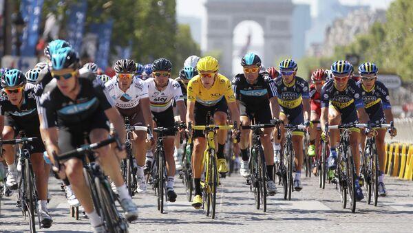 Велоспорт. Тур де Франс. Архивное фото