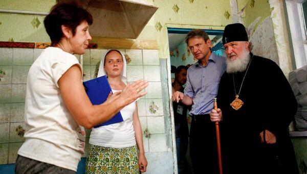 Визит патриарха Кирилла в Крымск